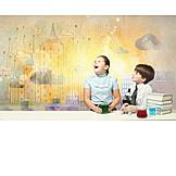 Architecture, School, School Children, Knowlege