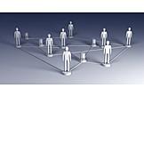 Team, Contact, Social Network