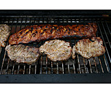 Meat, Broiling, Grill