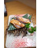 Fish Dish, Cod, Japanese Cuisine, Teppanyaki