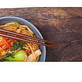 Asian Cuisine, Soba, Pasta Pan