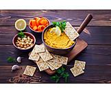 Vorspeise, Snack, Arabische Küche, Hummus