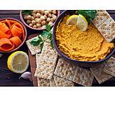 Orientalische Küche, Kichererbse, Mezze, Hummus