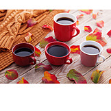 Kaffee, Kaffeetasse, Herbstlich