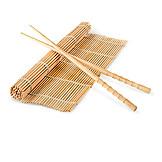 Asian Cuisine, Bamboo Mat, Chopsticks