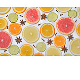 Backgrounds, Orange, Vitamins, Grapefruit, Citrus Fruit