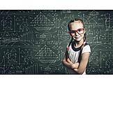 Kind, Mädchen, Bildung, Intelligent, Wunderkind