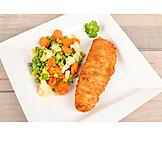 Fish Dish, Fish, Vegetable