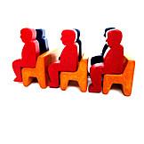 Group, Seats, Spectator, Listener, Passengers