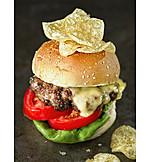 Hamburger, Amerikanische Küche, Junkfood
