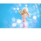Swimwear, Bikini, Glamour, Blonde