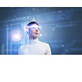 Science, Future, Scientist, Digitization, Online Research