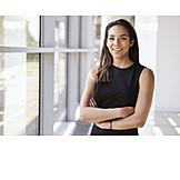 Business woman, Self confident