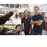 Car, Car Mechanic, Workshop, Mechanic