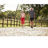 Active Seniors, Fit, Motion, Sporting