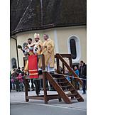 Leonhardi ride, Animal blessing, Bishop