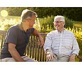 Seniorenheim, Gespräch, Reden, Altenpflege, Betreutes Wohnen
