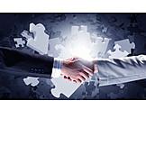 Zusammenarbeit, Lösung, Zusammenschluss, Kollaboration