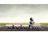 Handel, Einzelhandel, Erfolgreich, Güterverkehr, Unternehmer