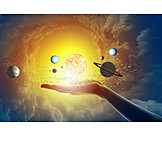 Future, Solar System, Constellation, Planets, Horoscope