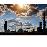 Industry, Power Station, Factory, Refinery