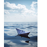 Boating, Travel, Paper boat