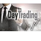 Börse, Handel, Börsenspekulation, Börsenhandel, Daytrading