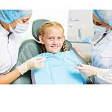 Mädchen, Zahnarztpraxis, Kinderzahnarzt