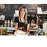 Cafe, Sideboards, Cake, Sales Executive