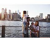 Kind, Städtereise, New York, Familienausflug