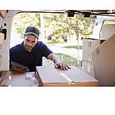Logistik, Lieferung, Bestellung, Paketdienst, Kurier