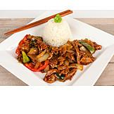 Asian Cuisine, Beef, Geschnetzeltes