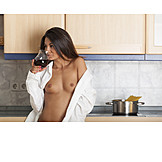 Erotic, Nude, Cooking, Sensual