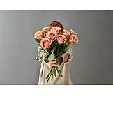 Birthday, Bouquet, Rose Bouquet