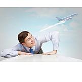 Business Travel, Airplane, Start, Flight