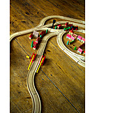 Wooden toys, Wood toy train