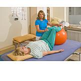 übung, Krankengymnastik, Physiotherapie