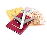 Holiday & Travel, Passport, Vacation, Flight, Travel Documents