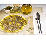 Arabische Küche, Fladen, Manoushi-brot