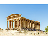 Archaeology, Temple, Concordia temple, Agrigento