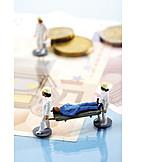 Gesundheitswesen & Medizin, Gesundheitskosten, Patient, Krankenversicherung, Krankentransport