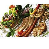 Salad, Bbq Season, Barbecue