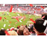 Victory, Soccer, Confetti