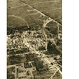 Luftbild, Erster Weltkrieg, Bapaume