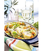 Fish Dish, Fish Casserole, Redfish Fillet