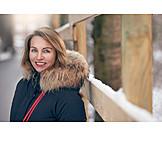Woman, Winter, Winter Coat