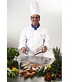 Healthy Diet, Prepared Fish, Cook