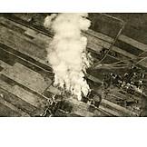 Aerial View, World War I, Attrition Warfare