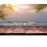 Twilight, Sea, Vacation Time