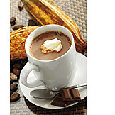 Cup, Hot chocolate